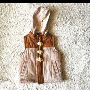 ⭐host pick⭐ 2/$20 Genuinekids by Oshkosh B'gosh vest size 12 m